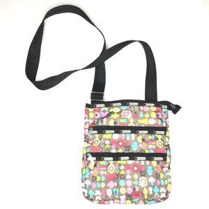 Lesportsac Crossbody Purse Bag Toot Kawaii Print